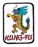 Budoland  Stickabzeichen Kung-Fu-Drache