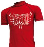 Top Ten  MMA-Lycra-Shirt kurzarm  rot