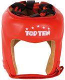 Top Ten  Kopfschutz  Leder inkl. AIBA-Label