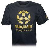T-Shirt Hayashi Equip to win schwarz-gold