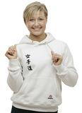 Hayashi  Kapuzen-Sweater Hayashi Karate Weiß