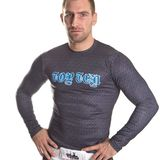Top Ten  Langarm-Shirt Rash Guard Top Ten MMA Among Beasts