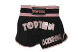 Top Ten  Thaiboxing Shorts TopTen FLEXZ Pro, Schwarz-Pink