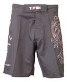 Top Ten  TopTen MMA Shorts Dragon, Schwarz-Lila