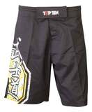 Top Ten  TopTen MMA Shorts Sunrise, Schwarz-Gelb