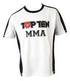 Top Ten  T-Shirt TopTen MMA It's in the cage, Weiß