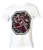 Top Ten T-Shirt TopTen MMA Samurai, Weiß