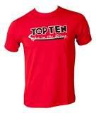 Top Ten  T-Shirt TopTen Get in the Ring, Rot