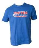 Top Ten  T-Shirt TopTen Get in the Ring, Blau
