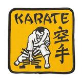 Ju-Sports  Patch Karate in gelb