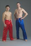 Ju-Sports  Kickboxhose Uni rot