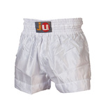 Ju-Sports  Thaiboxhose color weiß