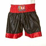 Ju-Sports  Thaiboxhose uni schwarz/rot
