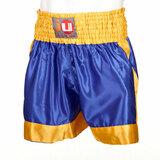 Ju-Sports  Thaiboxhose uni blau/gelb