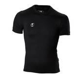 Ju-Sports  Compression Shirt kurzarm schwarz