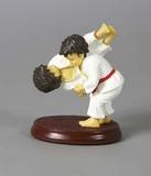 Judo-Figur Wurf