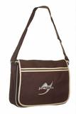 Ju-Sports  Retro Messenger Bag BG71 chocolate-sand
