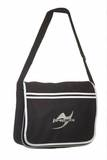 Ju-Sports  Retro Messenger Bag BG71 schwarz