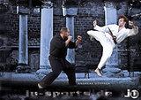 Ju-Sports  Poster Ju-Jutsu Sprungkick
