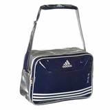 Adidas  Retro Umhänge Tasche Teakwondo, Navy - Silber