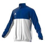 Adidas  T16 Teamjacke Männer AJ5383, Navy Blau-Weiß