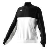 Adidas  T16 Teamjacke Damen AJ5326, Schwarz-Weiß