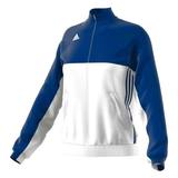 Adidas  T16 Teamjacke Damen AJ5327, Navy Blau-Weiß