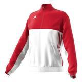 Adidas  T16 Teamjacke Damen AJ5328, Rot-Weiß