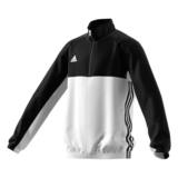 Adidas  T16 Teamjacke Kids AJ5322, Schwarz-Weiß