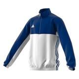 Adidas  T16 Teamjacke Kids AJ5323, Navy Blau-Weiß
