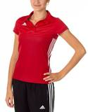 Adidas  T16 Clima Cool Polo Damen AJ5477, Power Rot-Scarlet Rot
