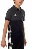 Adidas  T16 Clima Cool Polo Jungen AJ5470, Schwarz-Grau