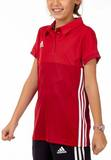 Adidas  T16 Clima Cool Polo Mädchen AJ5259, Power Rot-Scarlet Rot