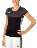 Adidas  T16 ClimaCool T-Shirt Damen AJ5439, Schwarz-Grau
