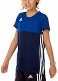 Adidas  T16 ClimaCool T-Shirt Mädchen AJ5255, Navy Blau-Royal Blau