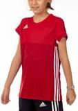 Adidas  T16 ClimaCool T-Shirt Mädchen AJ5256, Power Rot-Scarlet Rot