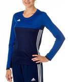 Adidas  T16 ClimaCool Longsleeve Damen AJ5486, Navy Blau-Royal Blau