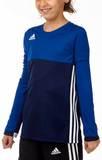 Adidas  T16 ClimaCool Longsleeve Mädchen AJ5251, Navy Blau-Royal Blau