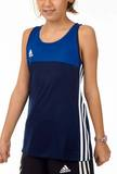 Adidas  T16 ClimaCool Sleeveless Tee Mädchen AJ5242, Navy Blau-Royal Blau