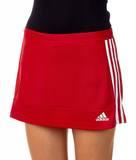 Adidas  T16 ClimaCool Woven Skort Damen AJ5271, Power Rot-Weiß