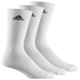 Adidas  Sportsocken, 3er Pack Weiß lang AA2297