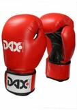 DAX  Leder-Boxhandschuhe TT, rot