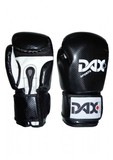 DAX  Boxhandschuhe Onyx TT, Schwarz-Weiß