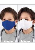 DAX  2x Kinder Gesichtsmasken im Set 1x weiß 1x blau