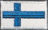 KWON  Stickabzeichen Finnland