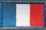 KWON  Stickabzeichen Frankreich