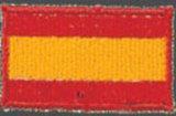 KWON  Stickabzeichen Spanien