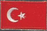 KWON  Stickabzeichen Türkei