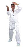 100,110,120,130,140,150,160,170,180,190,200,210,90  Taekwondo-Anzug Hadan-Plus mit weißem Revers
