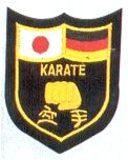 KWON  Stickabzeichen Japanisch-Deutsches Karate